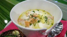 Makuja-kokki Veera Rusasen lohikeitto on ihanan kermainen ja täyteläinen. Tämä keitto sopii alku- ja pääruoaksi. Nauti sellaisenaan tai paahdetun ruisleivän kanssa.