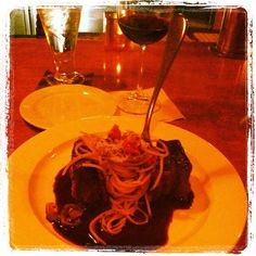 Campiello Eden Prairie - Balsamic Glazed Short Ribs and Spaghetti