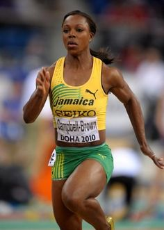 Veronica Campbell-Brown... Jamaican Sprinter