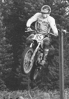 By Shawn McDonald Background Born: Tacoma, Washington Height: Racing weight: 160 lbs Sisters: Josie, Carrie, Margaret Business: Tool & Die Maker Precision Machine Works Championships: 1970 NMA. Enduro Motocross, Motocross Racing, Vintage Motocross, Vintage Racing, Dirt Bike Racing, Dirt Biking, Shawn Mcdonald, Triple Jump, Off Road Bikes