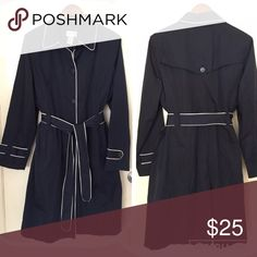 NAVY TRENCHCOAT S:12 Excellent condition like new Jackets & Coats Trench Coats