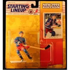 BRIAN LEETCH / NEW YORK RANGERS 1994 NHL Starting Lineup Action Figure & Exclusive NHL Collector Trading Card (Toy)  http://budconvention.com/zone1.php?p=B000GLW6Q4  #newyork