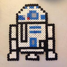 R2D2 - Star Wars hama beads by cat_frumor