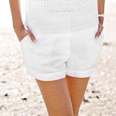 Linen Shorts   The White Company