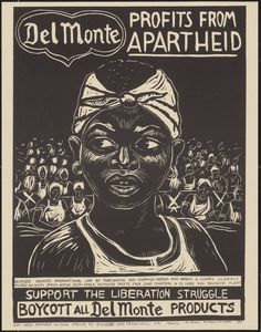 south african apartheid propaganda poster