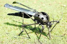 Hey, I found this really awesome Etsy listing at https://www.etsy.com/listing/177665025/the-metal-mosquito-metal-sculpture-home