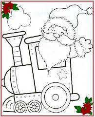 Dibujos Infantiles de Navidad para colorear