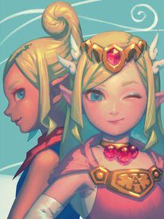 Highkey the best version of Zelda