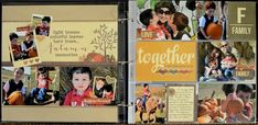 Life documented layout by Allison Davis
