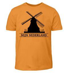 MEIN HOLLAND T-Shirt Holland, Mens Tops, Women, Fashion, Kleding, Cotton, The Nederlands, Moda, Fashion Styles