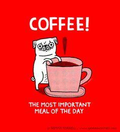 Pugs and Coffee!