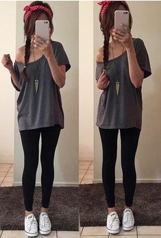 Laid back outfit for school
