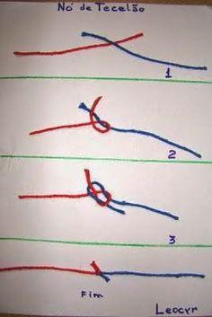 como faz o nó de tecelão