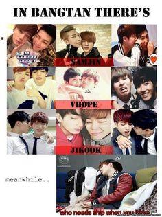 #BTS #BangtanBoys #Jimin #RapMonster #Jin J-Hope #Suga #Jungkook #V #NamJin #VHope #JiKook