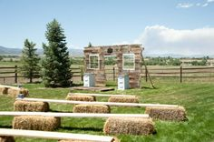 Always wanted hay bales but I know most people hate sitting on it because it itches!  This is a great alternative!