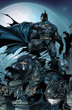 My Favorite Tangle #7: The Batman & the Darkness - My favorite hero the Dark Knight battles and teams with Jackie Estacado the weilder of the Darkness and favorite character to originate from Image Comics.