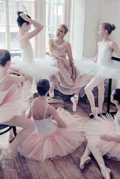 Sarah Murdoch in Rochas by Steven Chee for Vogue Australia August 2014 - The Pink Ballerina