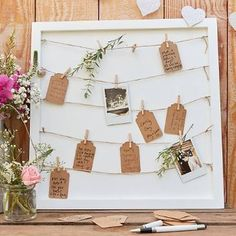 Excited to share the latest addition to my shop: Photo Guest Book, Rustic Wedding Guest Book or Seating Chart Cards Rustic Wedding Guest Book, Wedding Book, Wedding Table, Dream Wedding, Wedding Souvenir, Wedding Favors, Wedding Vintage, Polaroid Wedding Guest Book, Boho Wedding