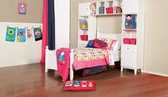 Happy Hearts Kids Bedroom Suite... for your little princess! <3 ...