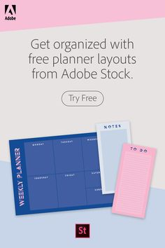 Get organized with free planner layouts from Adobe Stock. Free Planner, Printable Planner, Happy Planner, Bullet Journal Ideas Pages, Bullet Journal Inspiration, Planner Organization, Makeup Organization, School Study Tips, Planner Layout
