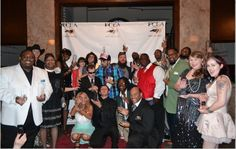 Group picture of all of us who got award with Ellen Leak at Forsyth Entertainer Awards