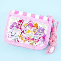 Tropical-Rouge! Pretty Cure Bi-Fold Wallet - Blippo Kawaii Shop Kawaii Faces, Anime Toys, Kawaii Accessories, Rement, Kawaii Shop, Pretty Cure, Magical Girl, Purse Wallet, Sea Shells