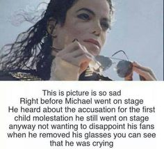 I honestly do not believe that he did any of that. He never had any of that in him. He was just too pure for that...
