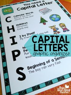 Capital Letters Graphic Organizer for Kids {FREE} - This Reading Mama