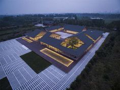 arch studio realizes 6000 sqm organic farmhouse in tangshan, china