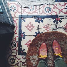 Old tiles, A Ervilha Cor de Rosa