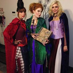 Pin for Later: 3 of a Kind: 21 Trio Costumes to Wear With Your Best Friends Hocus Pocus Witches