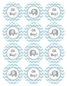 oh-boy-baby-shower-decorations-elephant-cupcake-to-1.jpg (1159×1500)