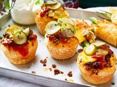 Unser beliebtes Rezept für Mini-Cheeseburgermuffins und mehr als 55.000 weitere kostenlose Rezepte auf LECKER.de.