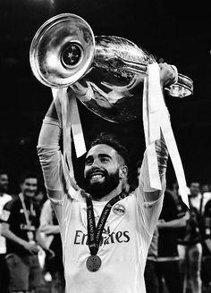 Dani Carvajal First Football, Football Love, Best Football Team, Real Madrid, Soccer, Fictional Characters, Futbol, European Football, European Soccer