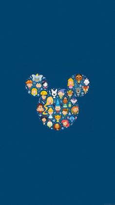 Disney iPhone Wallpapers: Disney Characters