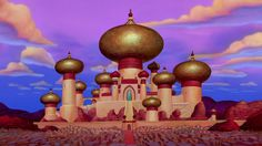 Jasmine, Aladdin, Disney Castle, 1992