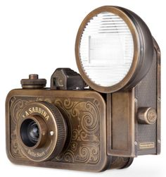 Lomography - La Sardina Metal Western Edition by Montserrat Llaurado, via Behance