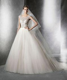PRISMAL - Pronovias 2016 #wedding #dress
