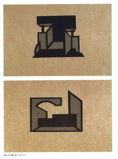 Laszlo Peter Peri, Space Constructions, Linocut Portfolio, 1922-23 Constructivism, Abstraction, Art