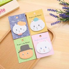 Cute Kawaii Memo Pad Creative Leaf Note For Kids Gift Novelty Item School Supplies Student Memo Pads Notebooks & Writing Pads
