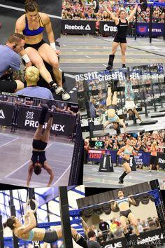 Julie Foucher - 2015 CrossFit Central Regionals #CrossFit Games #CrossFit #Julie…