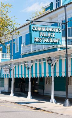 Commander's Palace is the original upscale New Orleans restaurant