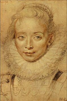 "Sir Peter Paul Rubens (1577-1640) ""Infanta Isabella."" Flemish Baroque painter."