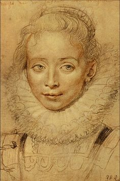 "Sir Peter Paul Rubens (1577-1640) ""Infanta Isabella."" Flemish Baroque painter."