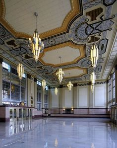 Texas and Pacific (T&P) Railway Station Lobby, Fort Worth, Texas