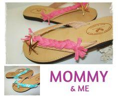 Αστερίες για μαμάδες και κόρες με πολύ στυλ!  #CforCrafts_fashion Mommy And Me, Flip Flops, Sandals, Shoes, Women, Fashion, Shoes Sandals, Zapatos, Moda