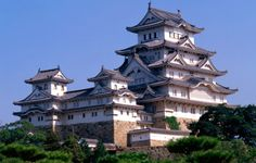 Himeji Castle ~ Considered one of the finest still surviving examples of typical Japanese architecture. It is composed of 83 buildings.