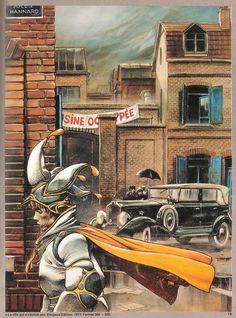 Couverture originale de, La ville qui n'existait pas (1977) d'Enki Bilal