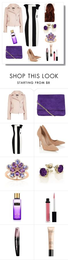 """""""Game of Colours"""" by elena-kononenko ❤ liked on Polyvore featuring Karen Millen, Lipsy, Belk & Co., Givenchy, Rimmel and Guerlain"""