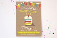 Oh What Fun! Children's Birthday Party Invitations by Lori Wemple at minted.com